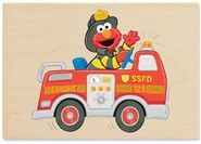 Stampabilities elmos fire truck