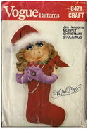 Vogue piggy stocking 1982