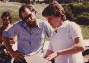 Jim Henson and Ken Kwapis