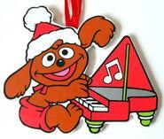 Kurt adler flat muppet babies christmas ornament rowlf