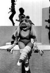Miss piggy work out