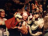 Live-hand Muppet
