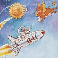 Grover astronaut Sesame Book of Poetry