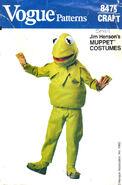 Kermit costume pattern