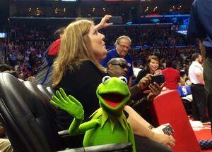 LAClippersGame-(2015-03-15)-DebbieMcClellan&Kermit