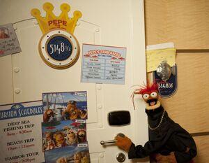 Pepe's cruise line cabin