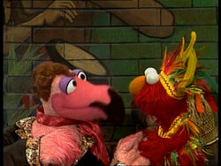 Placido Flamingo and Elmo Papageno