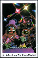 Sweden swap gum cards 61 dr teeth and the electric mayhem
