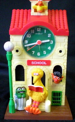 Bradley time 1978 school house clock 1