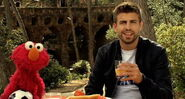 Gerard pique and elmo
