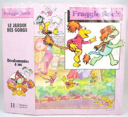 Hachette Jeunesse - Dry Decals set - Garden of the Gorgs - france 1983 1