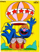 Playskool 1979 grover balloon