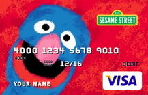 Sesame debit card 06 grover