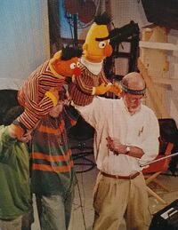 Steve and Frank on Ernie and Bert