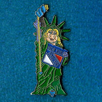 Hockey pin new york rangers