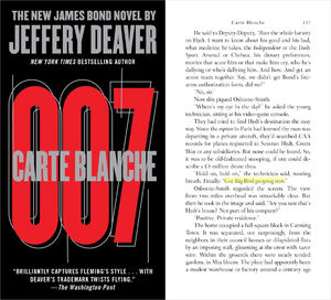 James Bond Carte Blanche