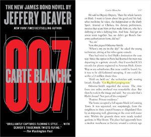 James Bond Carte Blanche