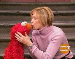Kiss Elmo Edie Falco
