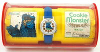 Moving head cookie monster package