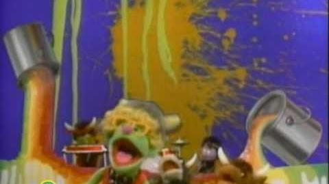 Sesame Street Wet Paint
