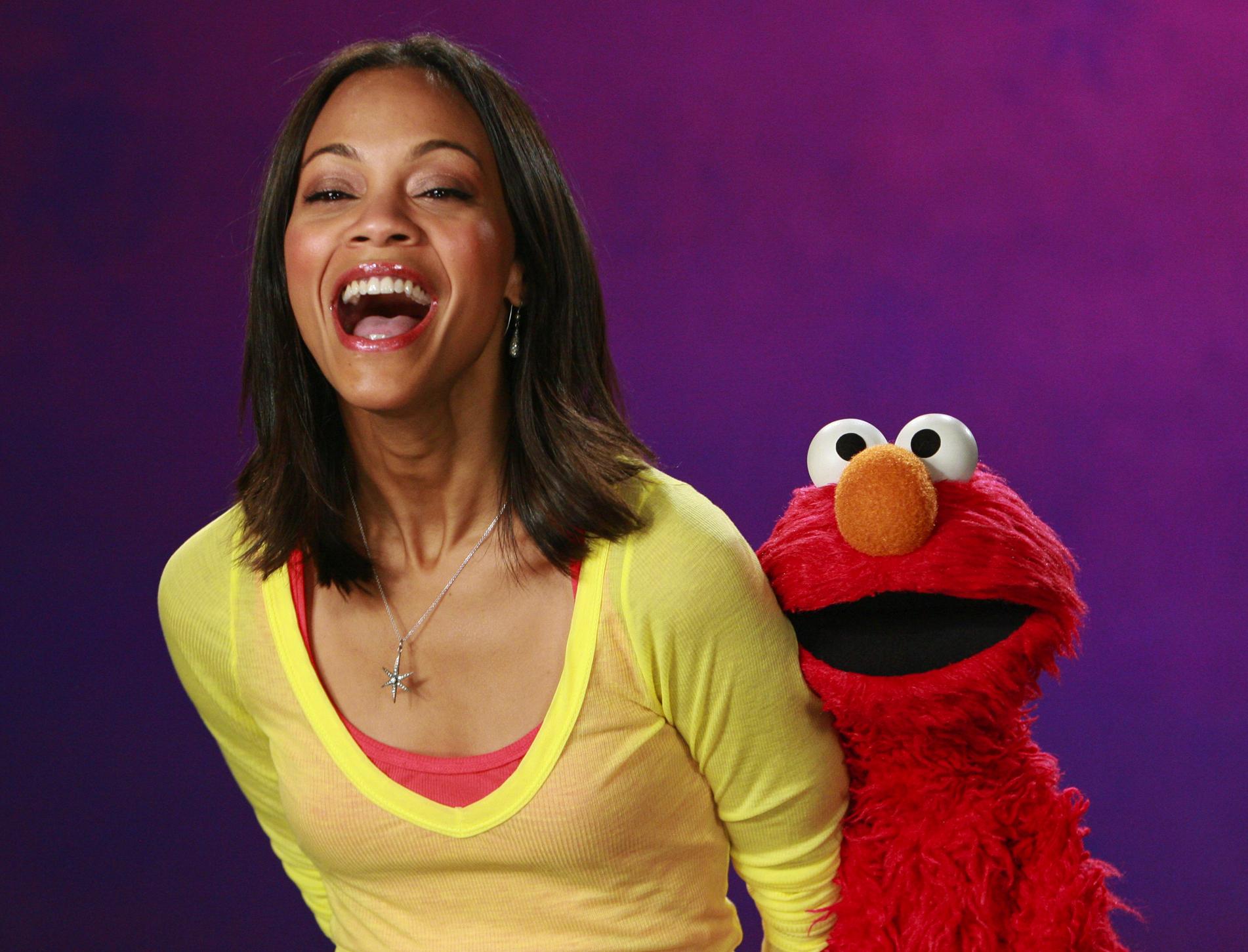 Zoe Saldana Muppet Wiki Fandom
