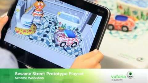 Vuforia by Qualcomm and Sesame Workshop Prototype Playset