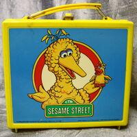 Aladdin sesame 1985 lunchbox