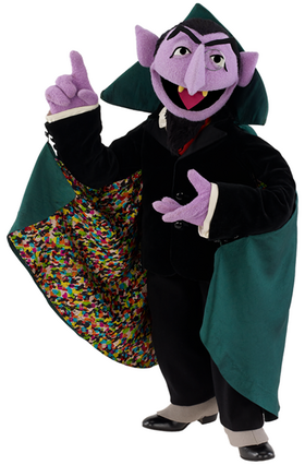 Sesame Street's The Count