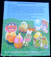 Hallmark 1981 muppet easter egg decorating kit 2