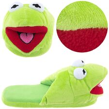 Kermit slippers b