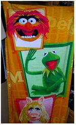 Muppet towels (Disney)