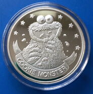 Cookie silver coin 1