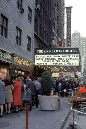 Ed Sullivan Theatre