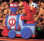 Enesco 1993 train 1 elmo
