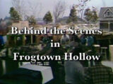 Behind the Scenes in Frogtown Hollow