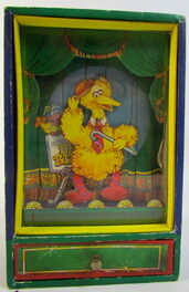 Gorham big bird wind-up dancing box 1
