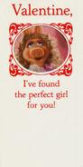 Hallmark piggy kermit valentines set 82 83 84 5