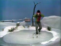 Bob danger broken ice