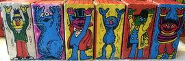 Michael smollin sesame cardboard blocks 1978 2