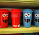 Sesame Street cups (Universal Studios Singapore)