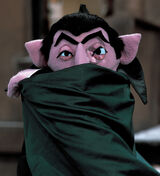 Is the Count on Sesame Street a vampire?