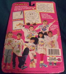 Tulip productions 1989 paint your shirt kit crafts 2