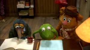 VMX Kermit's desk
