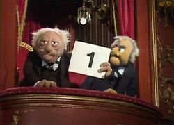 statler and waldorf through the years muppet wiki. Black Bedroom Furniture Sets. Home Design Ideas