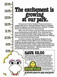 1988 Sesame Neighborhood ad