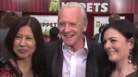 Anthony Hopkins at The Muppets 2011 premiere