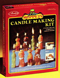 Avalon 1977 candle making kit muppet