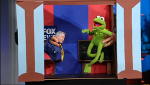 Daily Show - Kermit and Glenn Beck