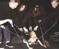 Pinocchio rehearsal