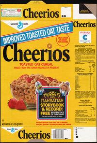 Cheerios mtm storybook record
